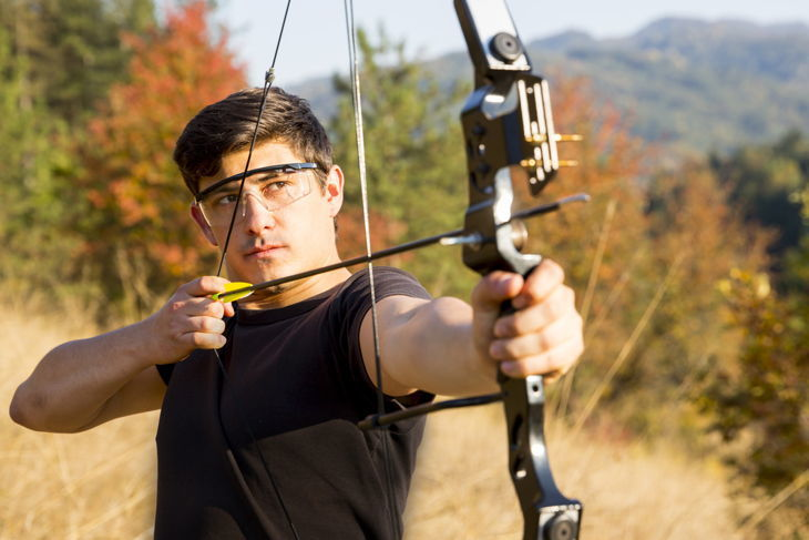 The Best Anchor Point for Drawing a Bow