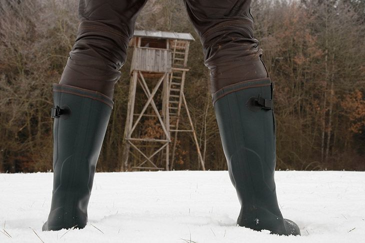 cold weather hunting boots