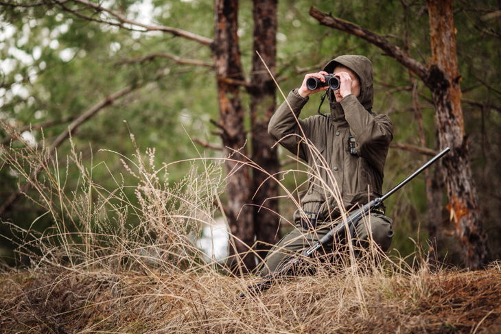 best binocular harness for hunting