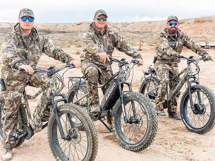 Hunters Are Turning To Electric Bikes