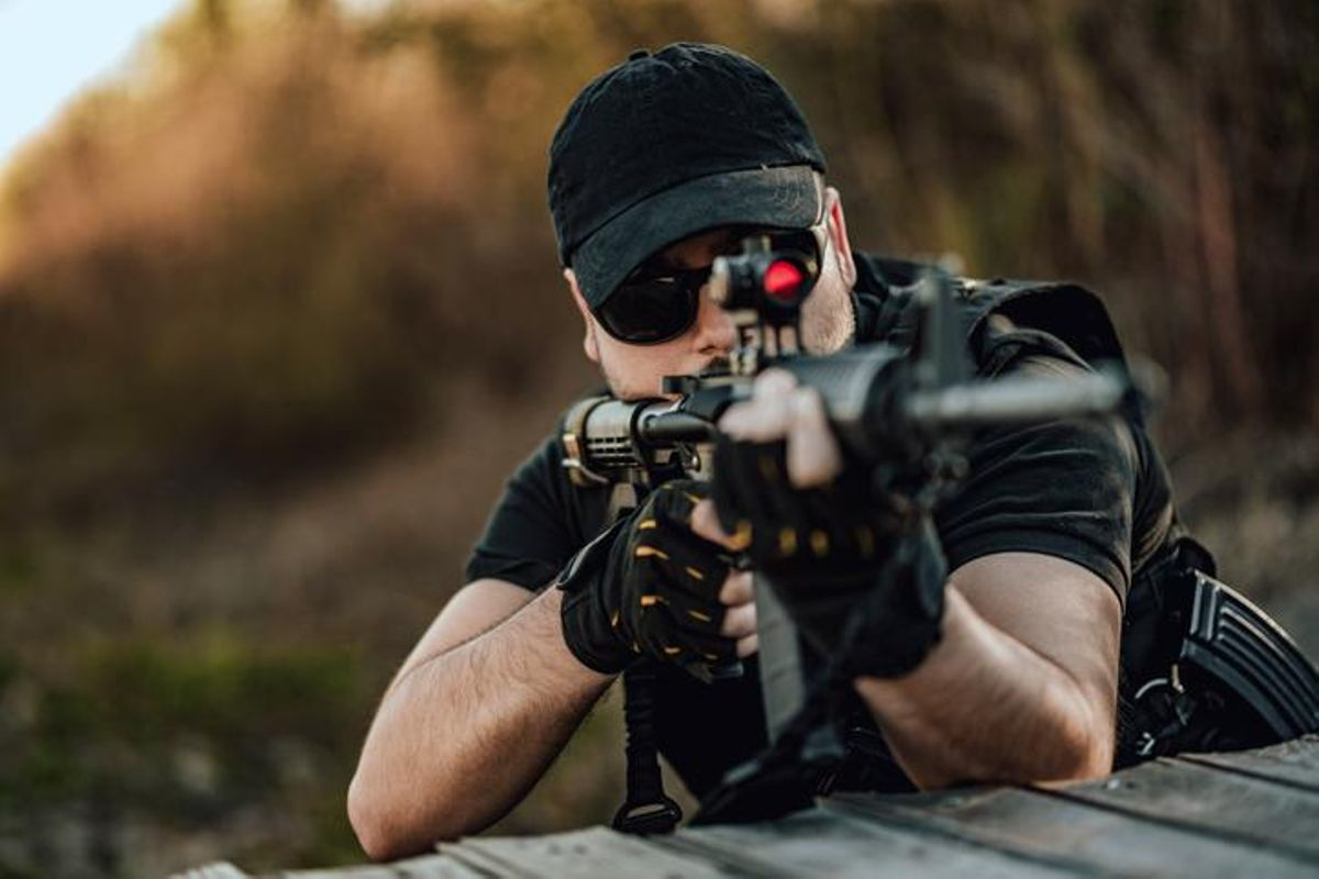 How Far Are Iron Sights Good For Shooting?