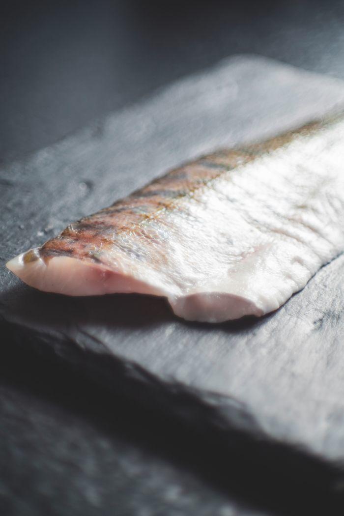 Thin fish slice